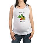 Veggie Addict Maternity Tank Top