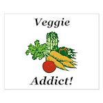 Veggie Addict Small Poster