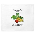 Veggie Addict King Duvet