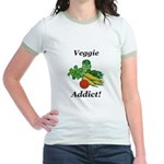 Veggie Addict Jr. Ringer T-Shirt