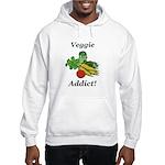 Veggie Addict Hooded Sweatshirt