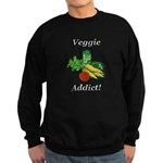 Veggie Addict Sweatshirt (dark)