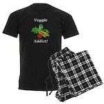Veggie Addict Men's Dark Pajamas