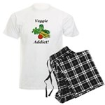 Veggie Addict Men's Light Pajamas