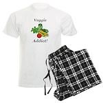Veggie Addict Men's Light Pajamas
