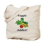 Veggie Addict Tote Bag