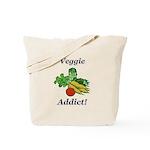 Veggie Addict Tote Bag