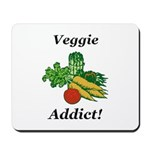 Veggie Addict Mousepad