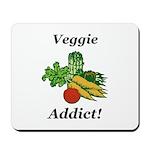 Veggie Addict Mousepad