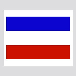 Serbia and Montenegro Flag Posters