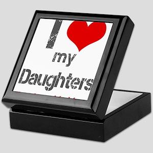 I love My Daughters Keepsake Box
