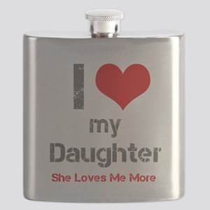 I Love My Daughter Flask