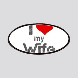 I Love My Wife Patches