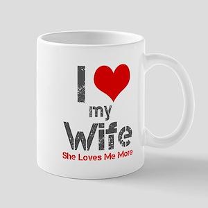 I Love My Wife Mugs