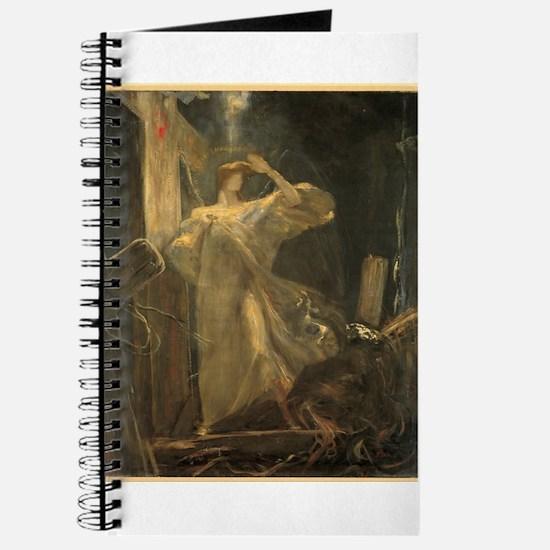 Gyzis - Archangel - Circa 1895 - Painting Journal