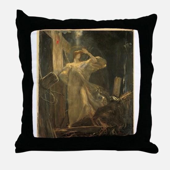 Gyzis - Archangel - Circa 1895 - Painting Throw Pi