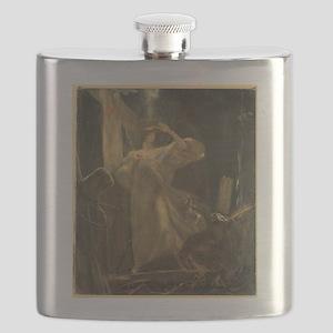 Gyzis - Archangel - Circa 1895 - Painting Flask