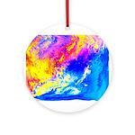 Beautiful weather Ornament (Round)