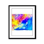 Beautiful weather Framed Panel Print