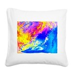 Beautiful weather Square Canvas Pillow