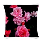 Roseconstellation Woven Throw Pillow