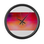 Heat Large Wall Clock
