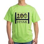 Green T-Shirt - Hyak Logo Front