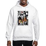 Punk Rock music fashion art and design Hoodie