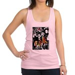 Punk Rock music fashion art and design Racerback T