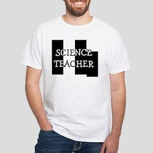Science Teacher White T-Shirt