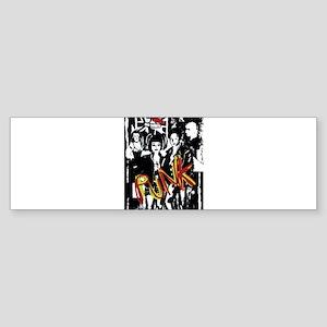Punk Rock music fashion art and design Bumper Stic