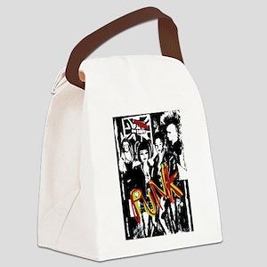 Punk Rock music fashion art and design Canvas Lunc