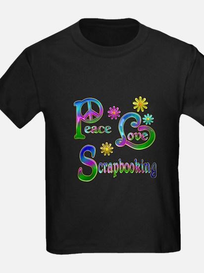 Peace Love Scrapbooking T