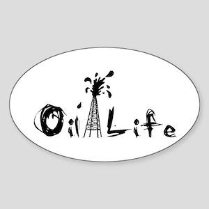 Oil Life large  (revised) Sticker