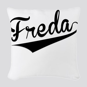 Freda, Retro, Woven Throw Pillow