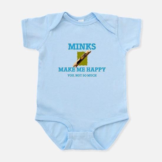 Minks Make Me Happy Body Suit