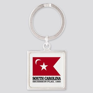 SC Secession Flag Keychains