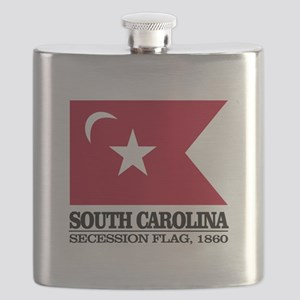 SC Secession Flag Flask