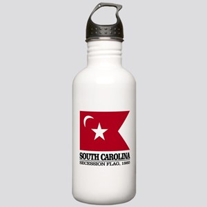 SC Secession Flag Water Bottle