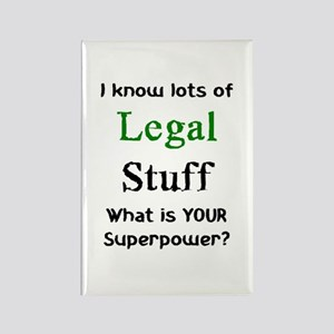 legal stuff Rectangle Magnet