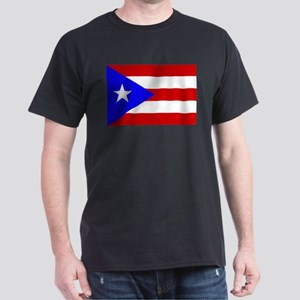 Puerto Rican Flag Dark T-Shirt