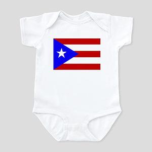 Puerto Rican Flag Infant Bodysuit