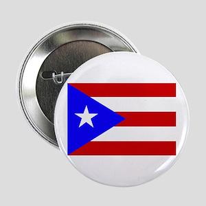 Puerto Rican Flag Button