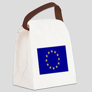 European Union Flag Canvas Lunch Bag