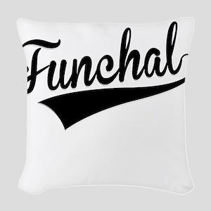 Funchal, Retro, Woven Throw Pillow