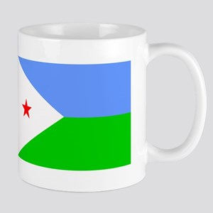 Djibouti Flag Mugs