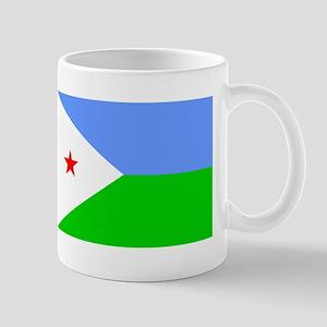 Djibouti Flag Mugs