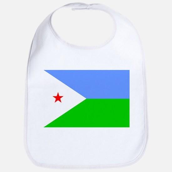 Djibouti Flag Bib