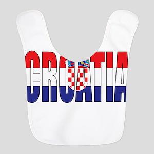 Croatia Polyester Baby Bib