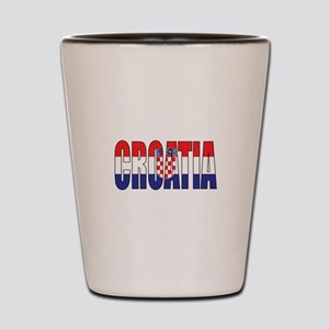 Croatia Shot Glass